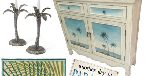 tropical home decor accessories tropical palm decor accessories to create your own slice