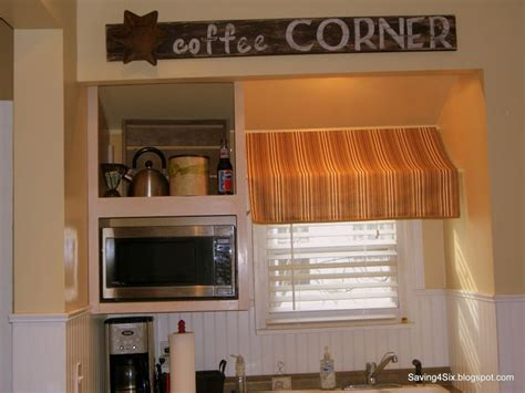 kitchen window curtain rods instead of a typical valance try an awning valance