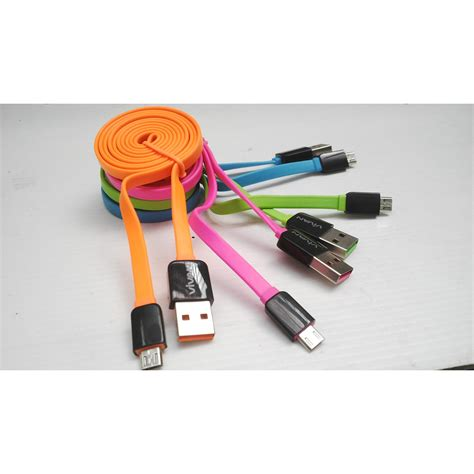 Vivan Kabel Micro Usb Data Charger 1m Cable Microusb Charge Vvn Om10 cable kabel data micro usb warna vivan jm100 elevenia