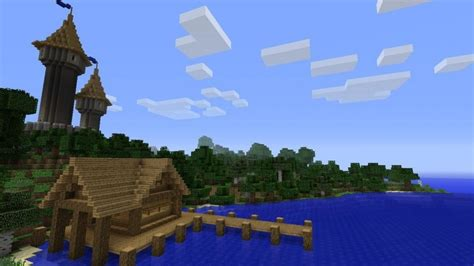 Wooden Designs by My Little Fishing Hut With Castle In Background