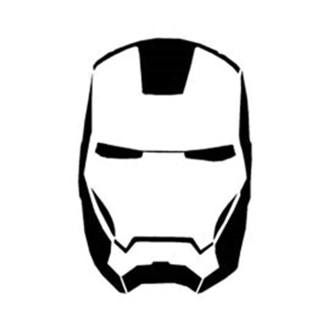 iron man mask stencil  stencil gallery