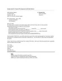 Letter Of Agreement To Pay Debt Debt Settlement Agreement Letter Free Printable Documents