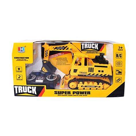 Rc Excavator Power King Mainan Anak Remote Berkualitas update harga momo 801 10a function model 2 truck mainan remote kuning terbaru