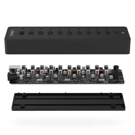 Usb Hub 10port 2 0 Black orico usb hub 2 0 10 port p10 u2 black