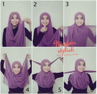tutorial hijab trend anak muda 20 cara memakai jilbab pashmina kreasi terbaru 2016