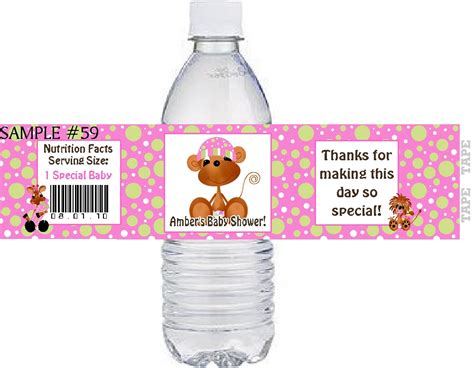 free water bottle labels for baby shower template baby shower water bottle labels memes