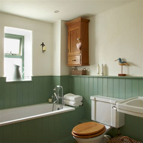 painted tongue and groove bathroom country bathroom with tongue and groove panelling ideal home