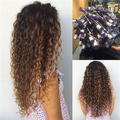 spiral perm vs normal perm with pictures spiral perms perms and hula on pinterest