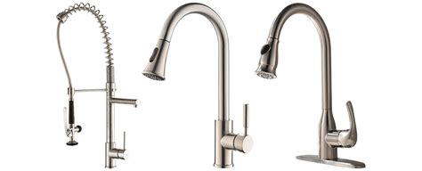 Kitchen Faucet Recommendations by Best Pull Kitchen Faucets Top 10 Picks