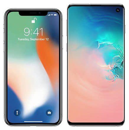 compare smartphones apple iphone x vs samsung galaxy s10 cameracreativ