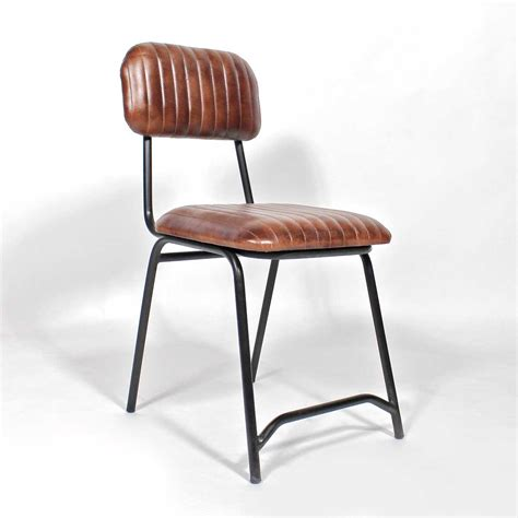 chaises marron chaise cuir marron
