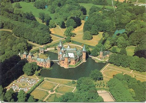 netherlands castles map castle de haar remembering letters and postcards