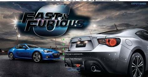 theme google chrome fast and furious 6 theme win 7 fast furious 6 themewin7