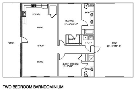 3 bedroom 2 bath metal house plans luxury open floor plan