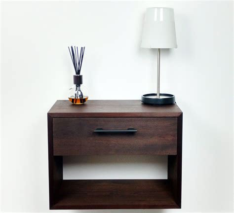 Floating Drawer Nightstand Floating Nightstand Nightstand With Drawer Nightstand