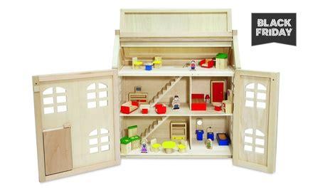 casa giocattolo casa giocattolo in legno toytopia con 24 accessori