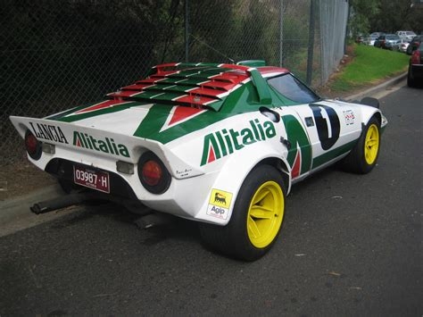 Lancia Alitalia Lancia Stratos Rally Car In The 3 Madwhips