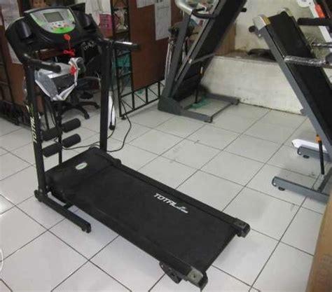 Treadmill Elektrik Alat Pijet Tipe 222 C treadmill elektrik total 1 hp tl 222 c elektric treadmill 222c 4 fungsi