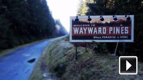 nonton film seri wayward pines městečko pines wayward pines 2015 trailer 1