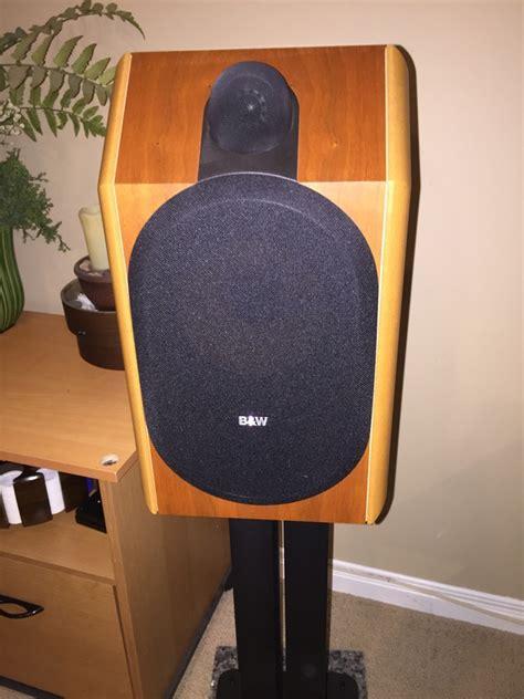 b w bowers wilkins cdm 1 bookshelf speakers for sale