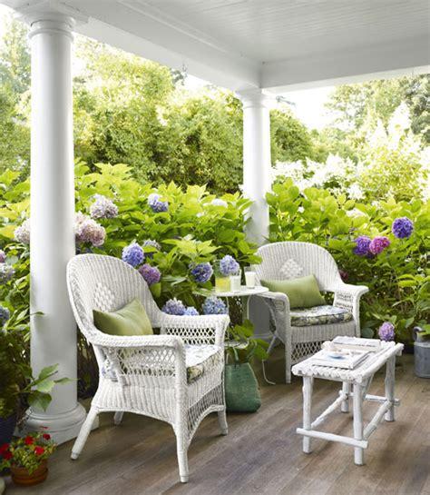 cottage flavor pretty porches and patios