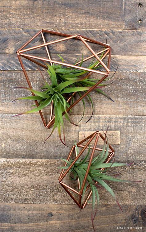 diy copper plant hangers arts  crafts diy plants