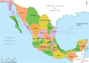map of the mexico is mexico safe a state by state assessment hello df