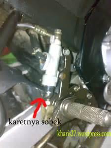 Besi Rem Belakang Verza Original Copotan Motor hir setahun pakai cakram belakang psm buat vixion