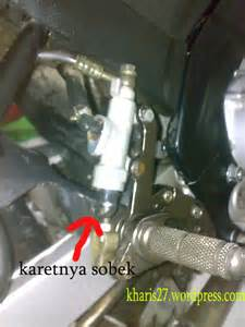 Master Rem Cakram Honda Supra Fit Original hir setahun pakai cakram belakang psm buat vixion