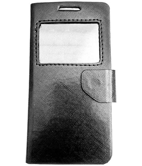 lenovo a526 flip cover by aravstore black available at snapdeal for rs 296