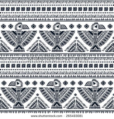 tribal indian pattern tribal eagle stock images royalty free images vectors