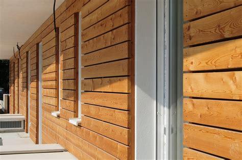 rivestimento esterno in legno complesso abitativo in legno pesaro gallery edilizia