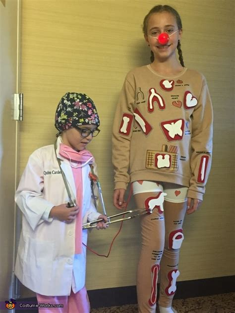 homemade operation game costume