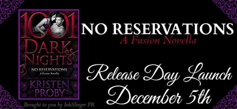 no reservations a fusion novella books feel the book inedito release day launch no