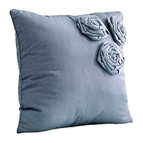 blue throw pillows for bed nostalgia home neveah square throw pillow in blue bed