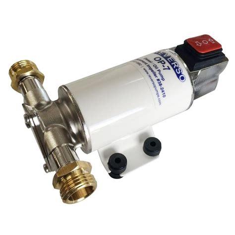 boat engine oil change pump reverso op 7 oil change pump 12v west marine