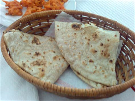 1 chapati carbohydrates nutrition facts indian food