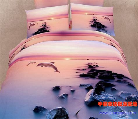 dolphin bedding 3d dolphin ocean bedding comforter set queen size duvet cover linen bed linen sheet