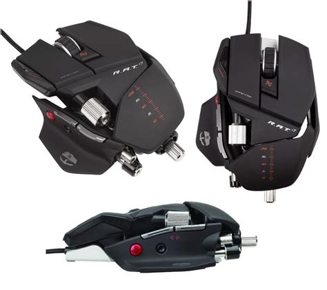 Madcatz R A T 7 Gaming Mouse Putih new mouse 2011