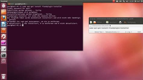 tutorial ubuntu youtube ubuntu adobe flash player installieren tutorial hd hq