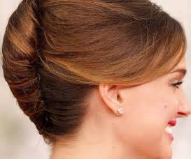 easy hairdo french twist hairstyles beautiful hairstyles