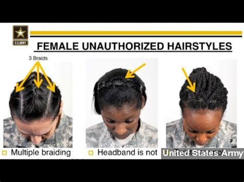women hair standards air force army s new hair regulations called racially biased youtube