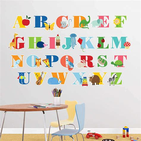 alphabet wall decals for rooms 25 creative wall decals for rooms sometimes