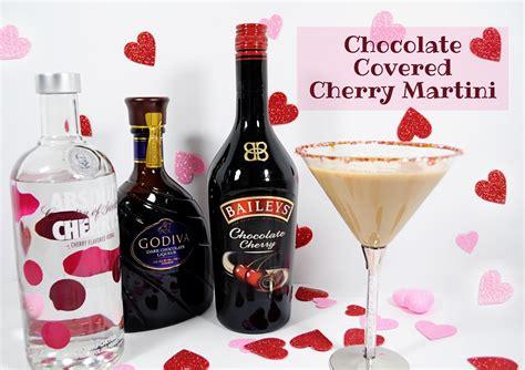 martini cherry chocolate covered cherry cocktail recipe