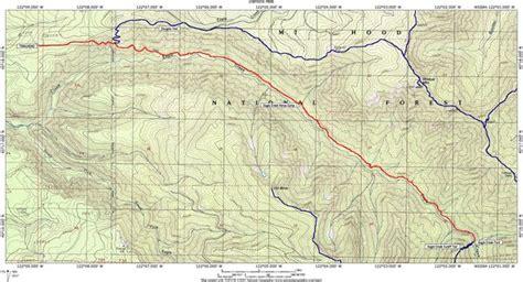 map of oregon eagle creek eagle creek salmon huckleberry hike hiking in portland