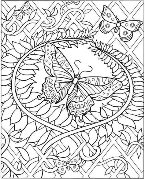 detailed coloring pages for adults flowers detailed flower coloring pages for adults
