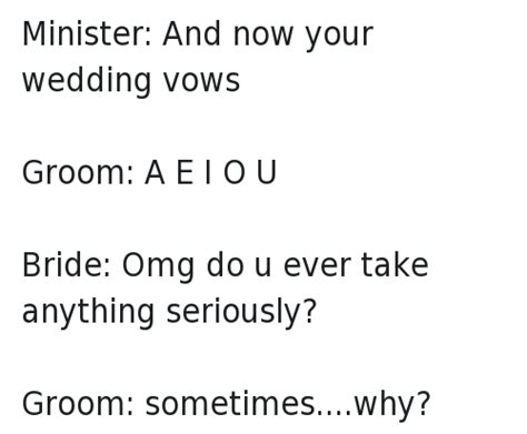 Wedding Ceremony Humor by Wedding Vows Make Your Guests Happy Cry