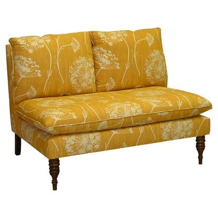 foam for settees pine wood and foam settee with floral print upholstery