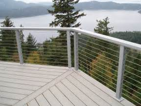 stainless steel cable railing crystalite inc
