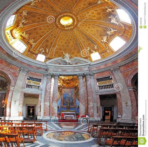 sant andrea al quirinale interno interno di roma nel san andrea al quirinale della chiesa